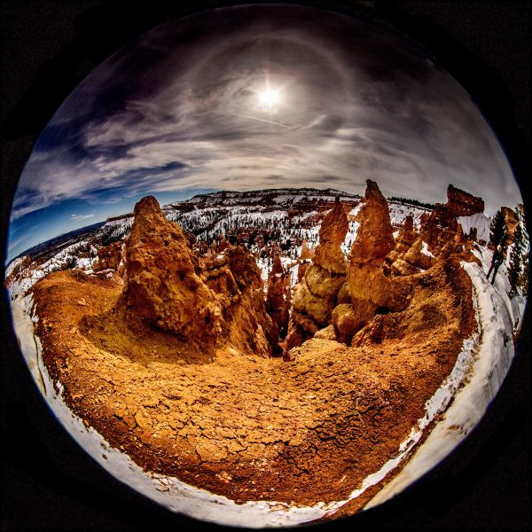 Island in the Snow, Bryce Canyon - Joel Simpson
