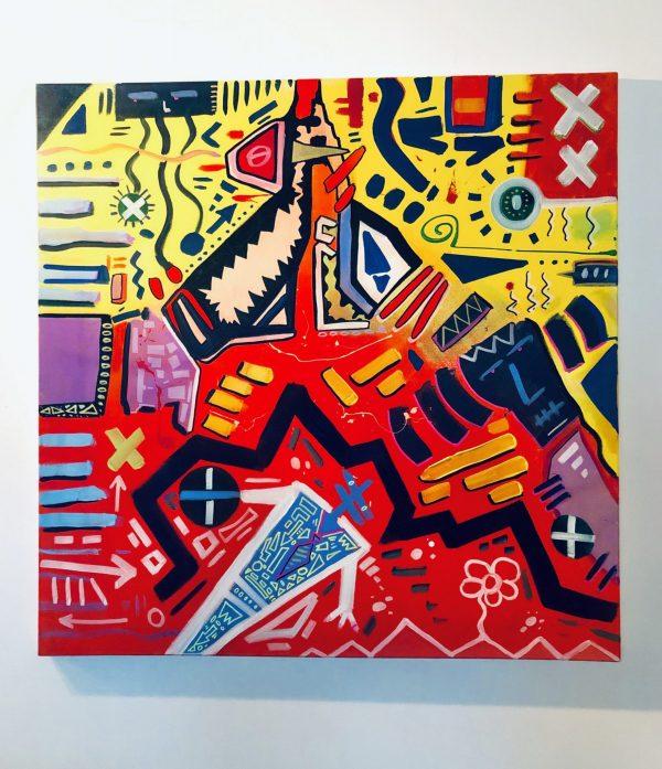 Abstract Times - jason perez art