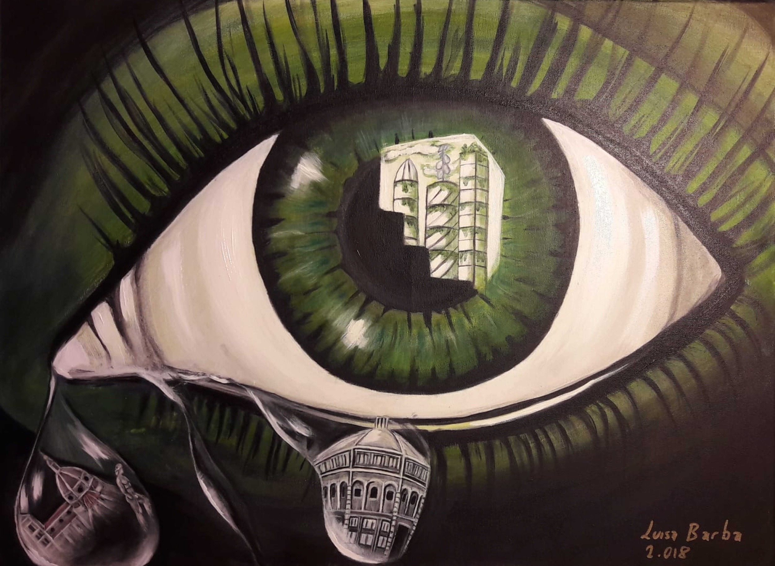 THE SAD EYE THAT SEES EVERYTHING