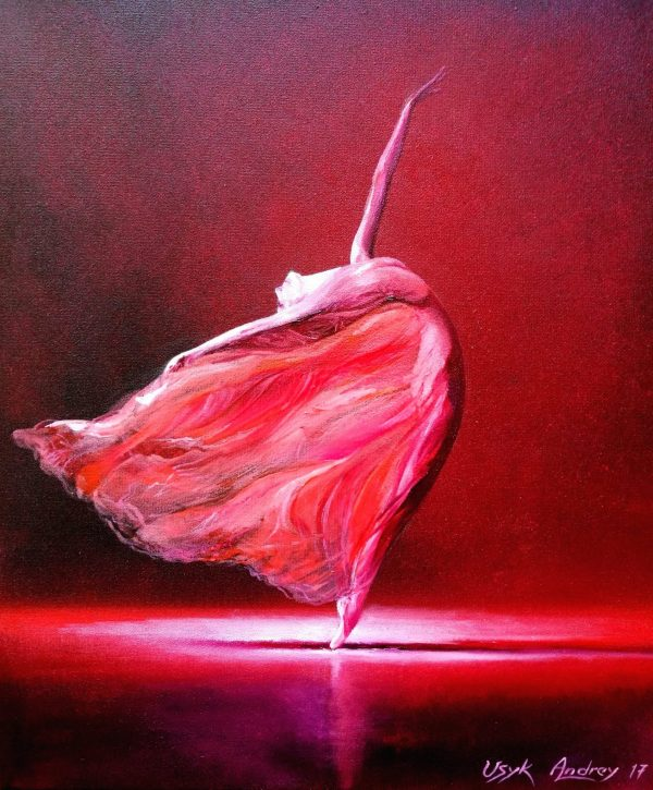 Ballerina in Red - andrey usyk
