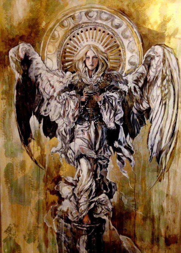 Golden Angel - Marta Wiley
