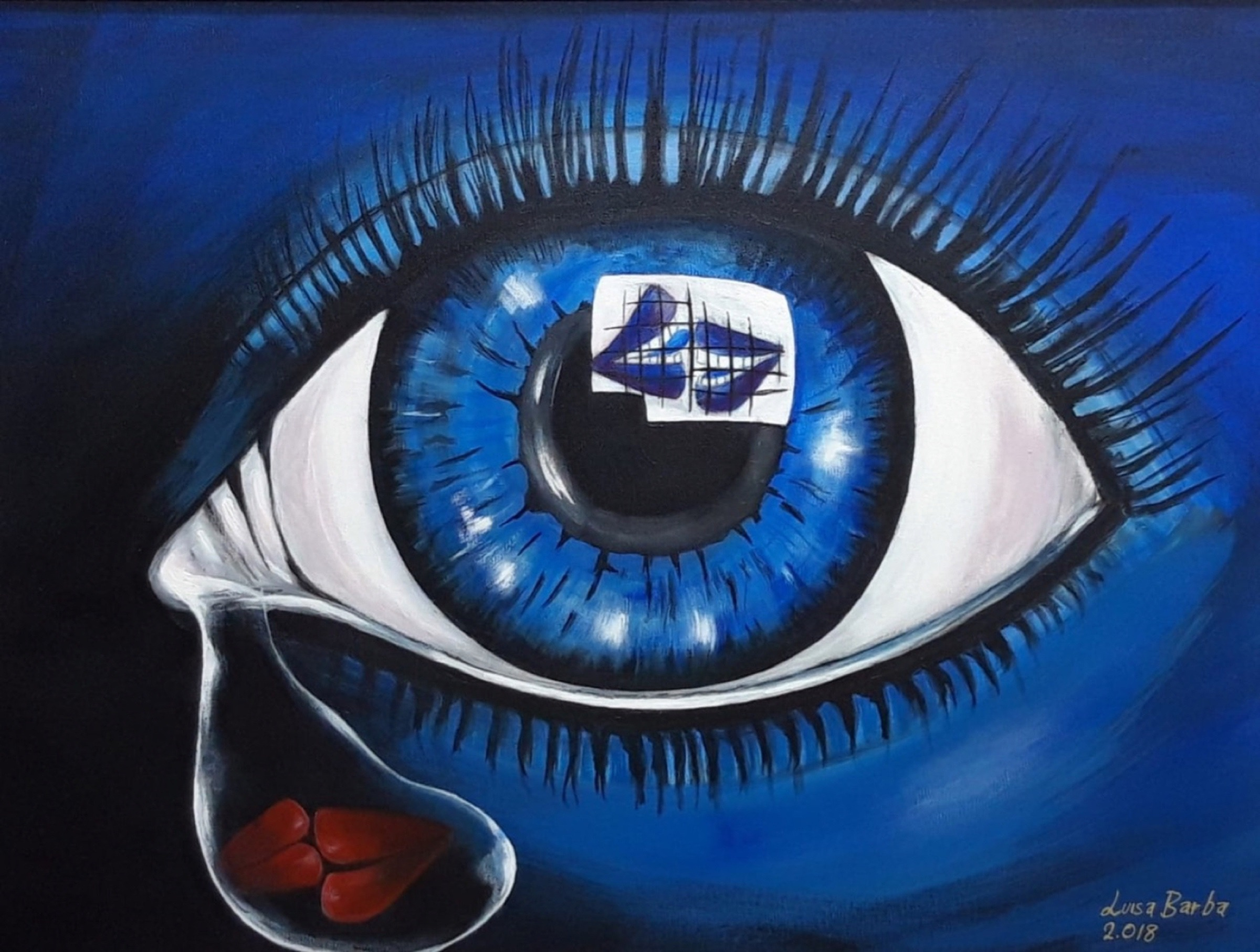 THE SAD EYE THAT ALSO SEES EVERYTHING