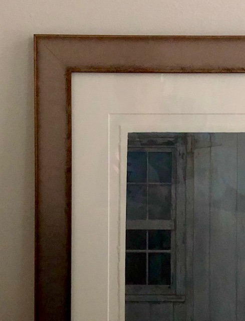 Blue Barn Frame
