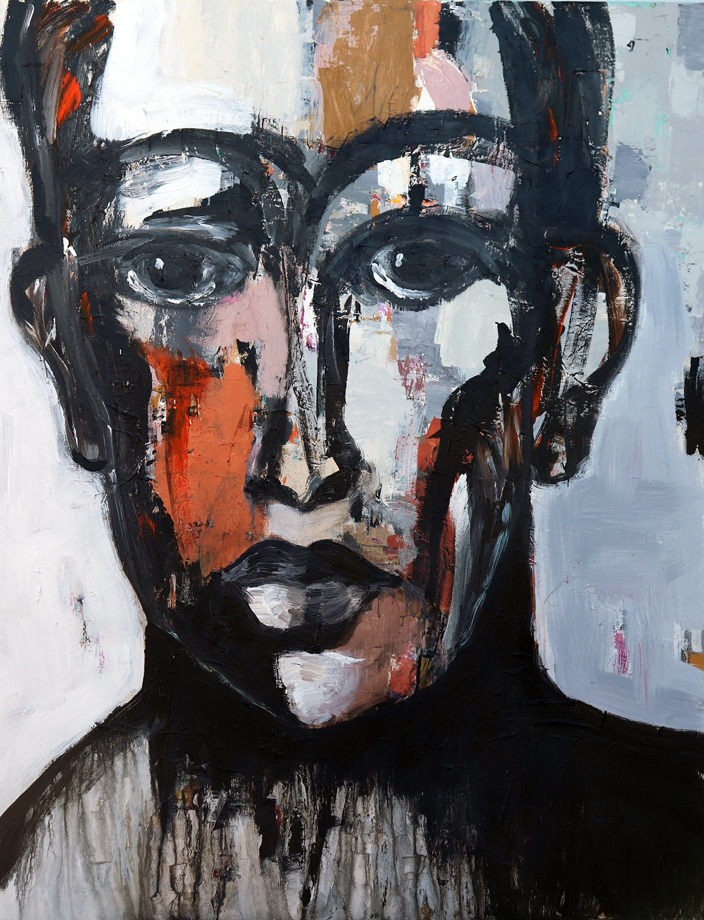 Face with Ochre
