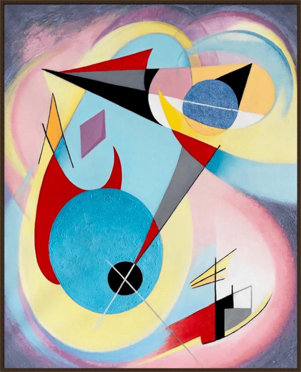 elena iosilevich, oil on canvas, abstract art