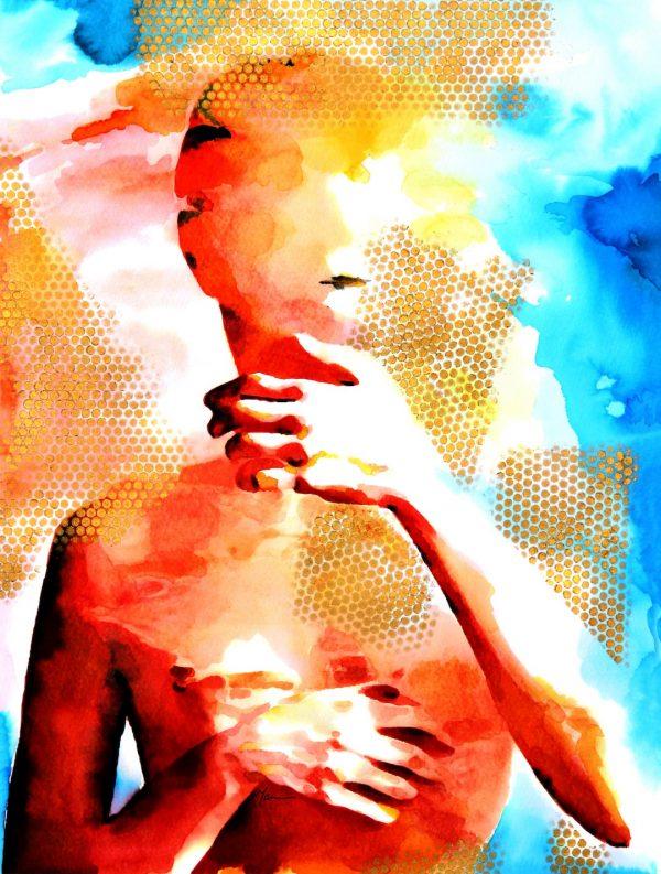 Wall Art - Zahra Souren Mousavi