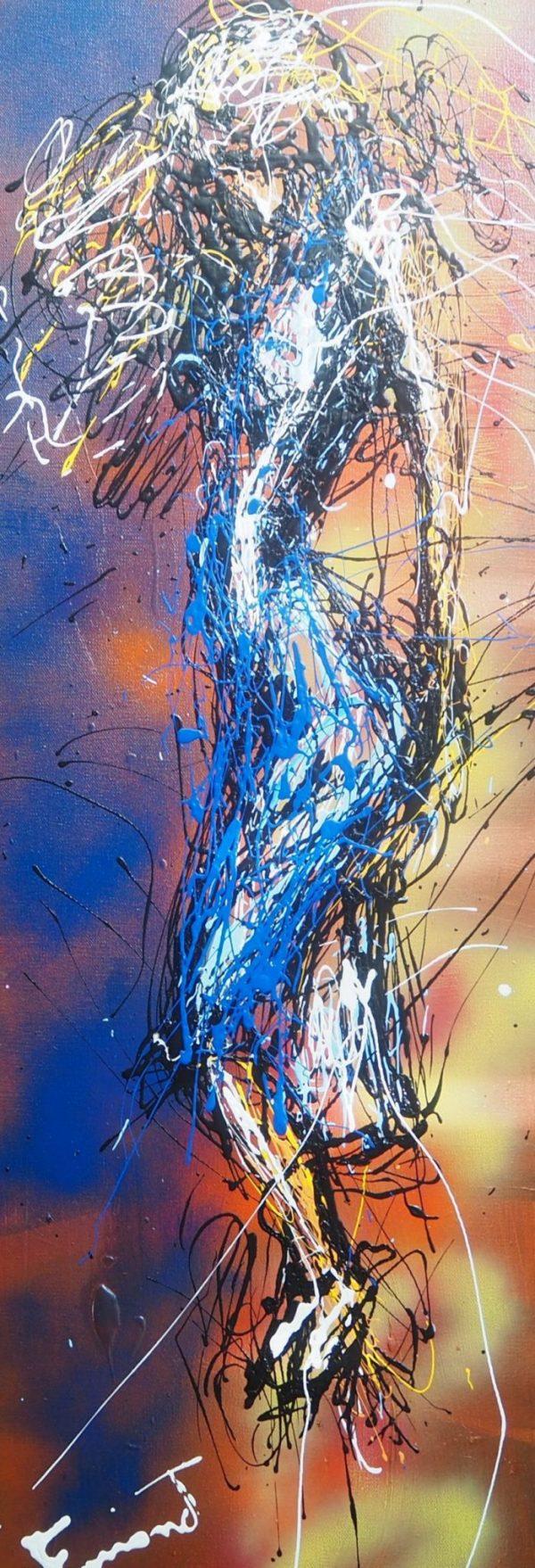 Dali's Blue Dress - farrand fine art