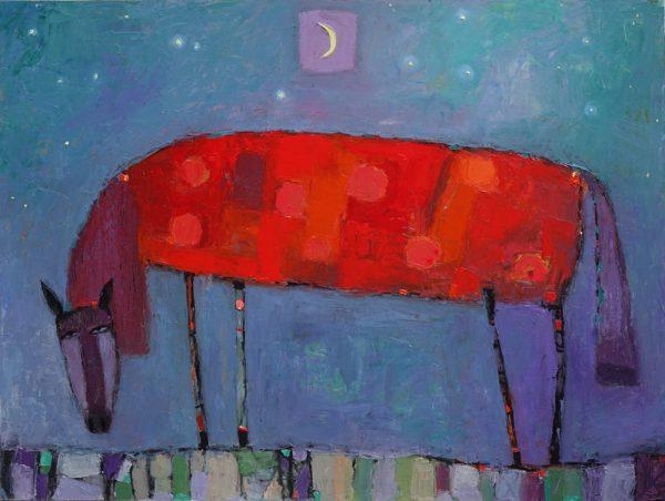 Horse-Under-Starry-Sky-dmitry-syrov