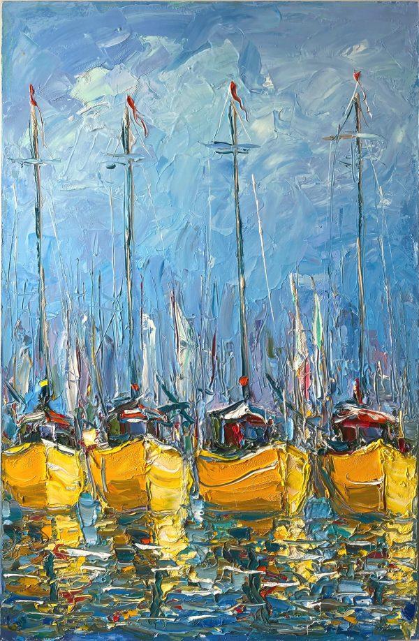 Dmitry Syrov, Yachts