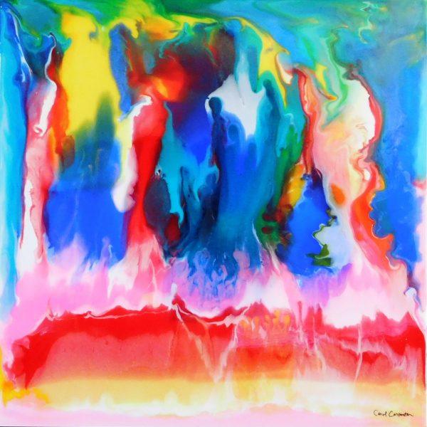 Flames by Carol Carpenter