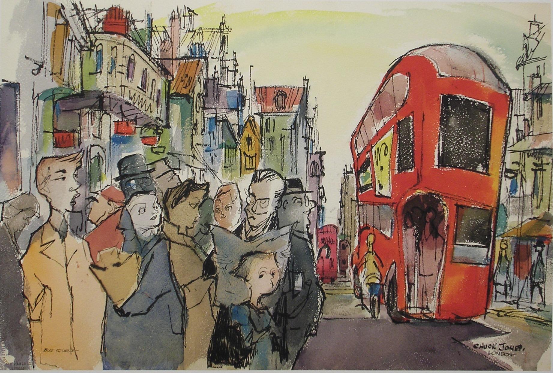 Bus Queue London