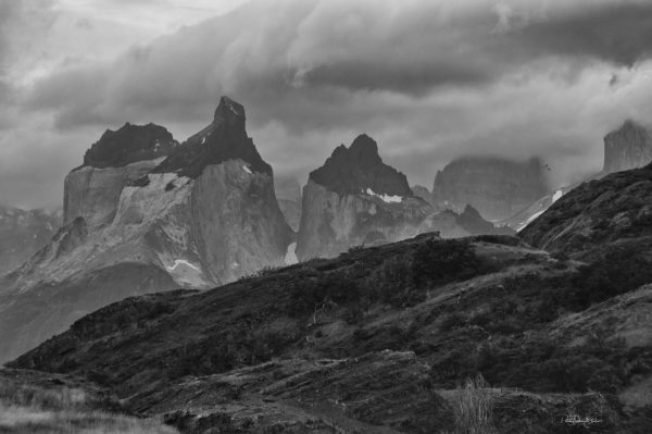 Torres del Paine Black and White-patricia-gilman