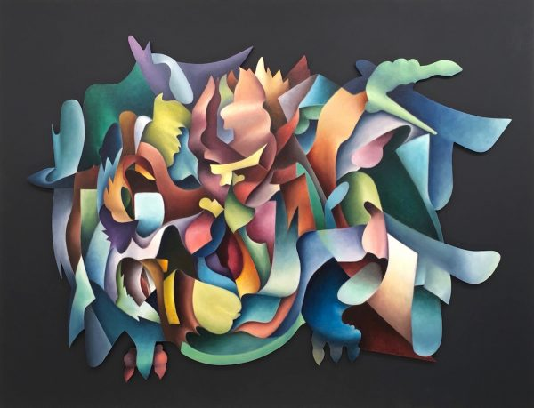 Image of Oil Painting 'Garuda' by DZeiset