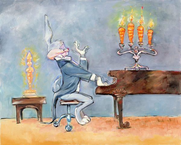 Chuck Jones Bug at Piano