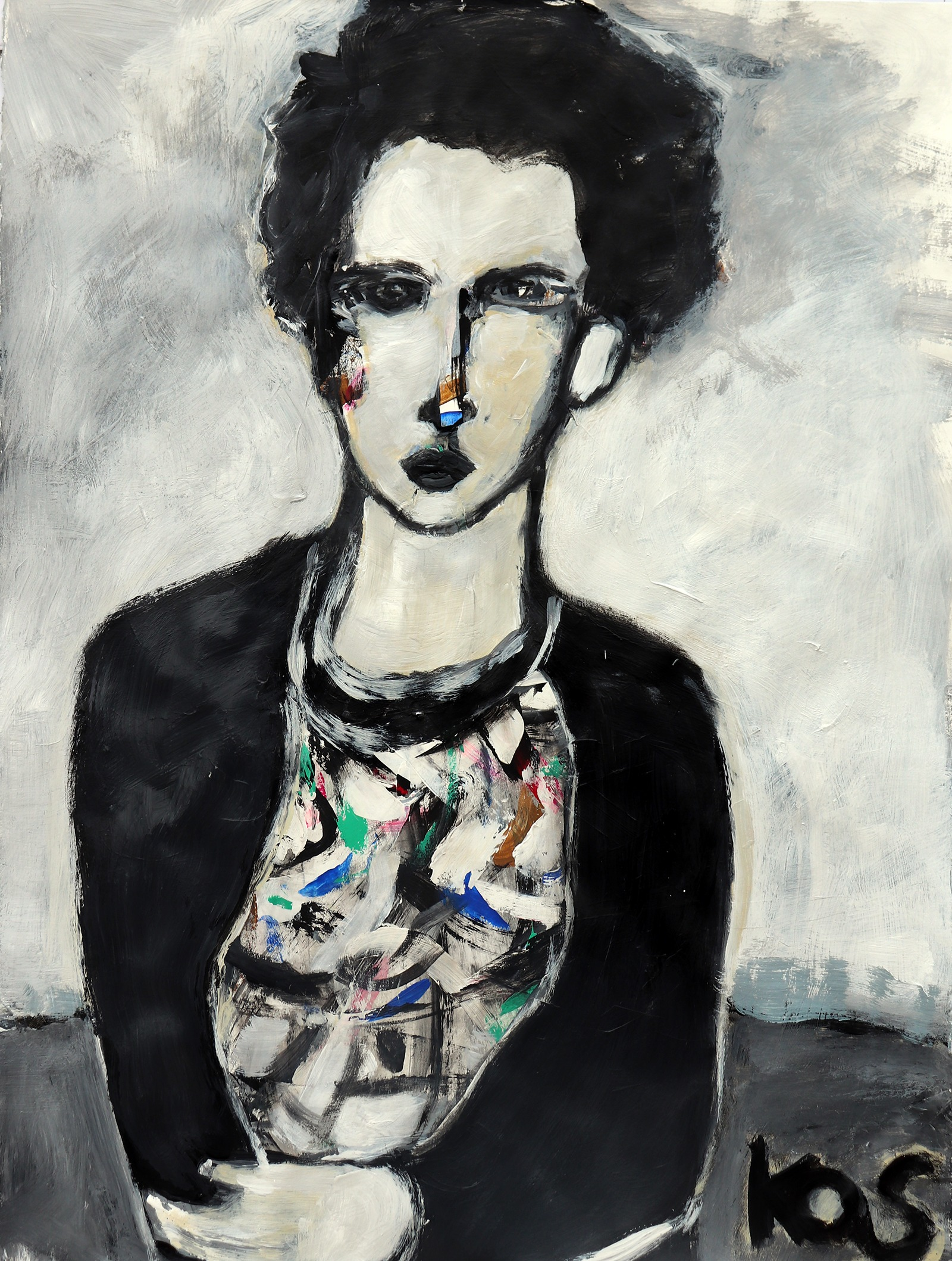 Girl with Black IV