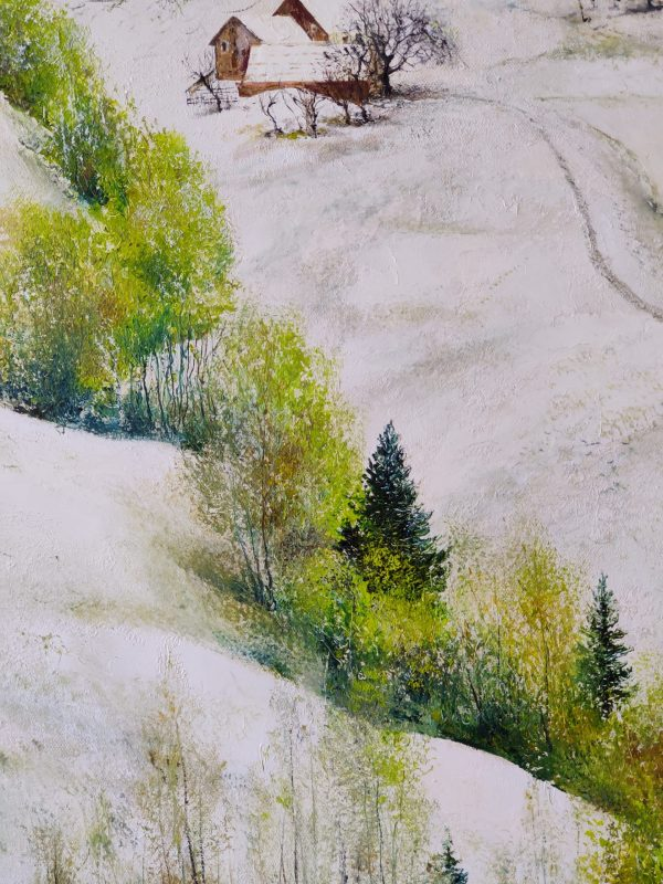Snow in The April - andrey usyk