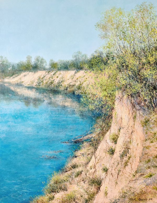 Cliff on Desna River - andrey usyk