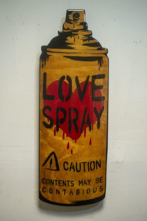 LoveSprayWoodcut - ConsumerArt