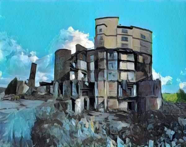 Pocono Manor Ruins