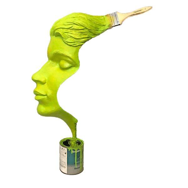 Stroke-of-Genius-Sculpture-Michael-Alfano