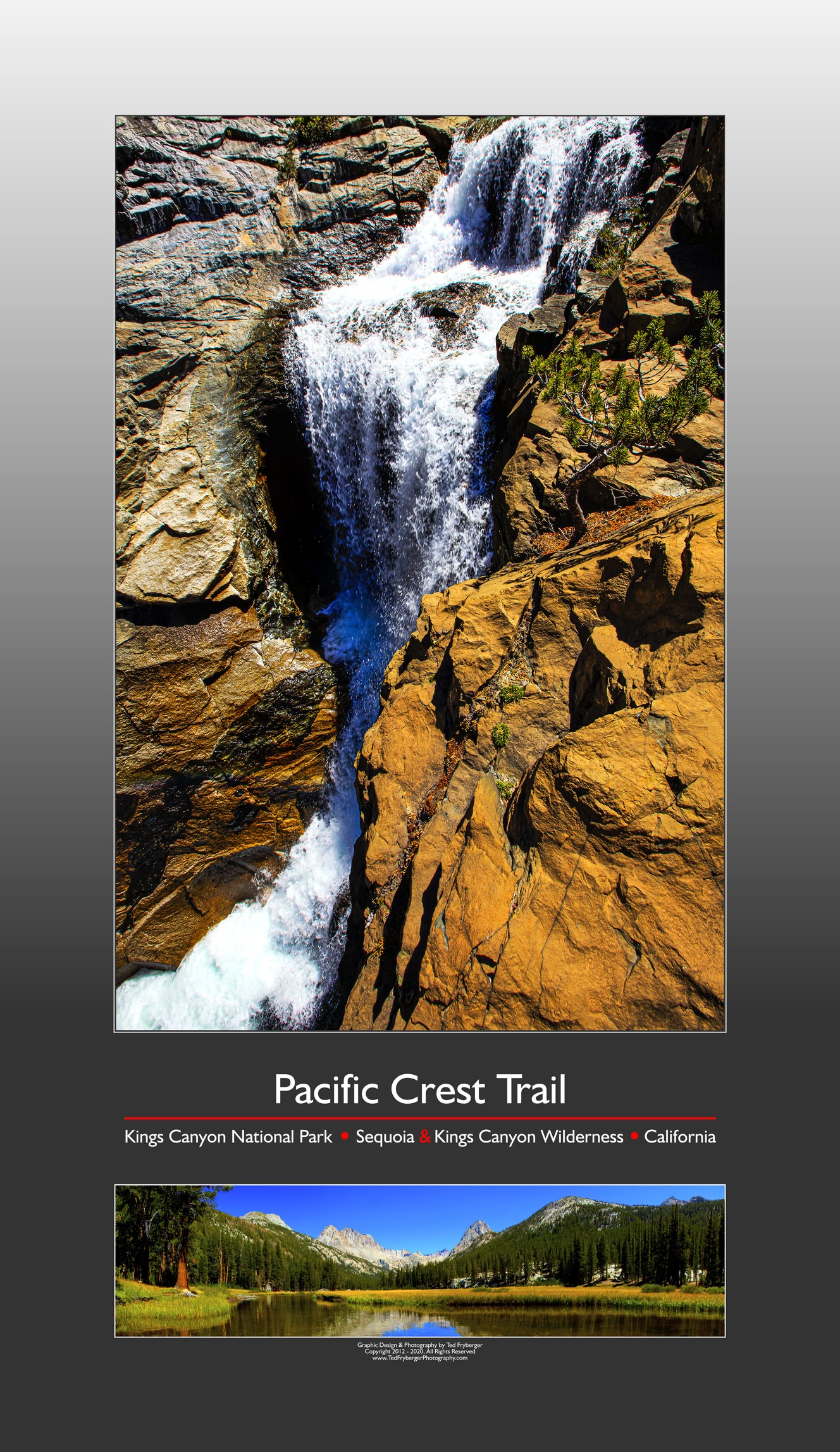 Pacific Crest Trail Poster