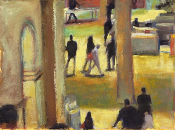 View from the Grand Staircase, NYMET - Carol Tippit Woolworth