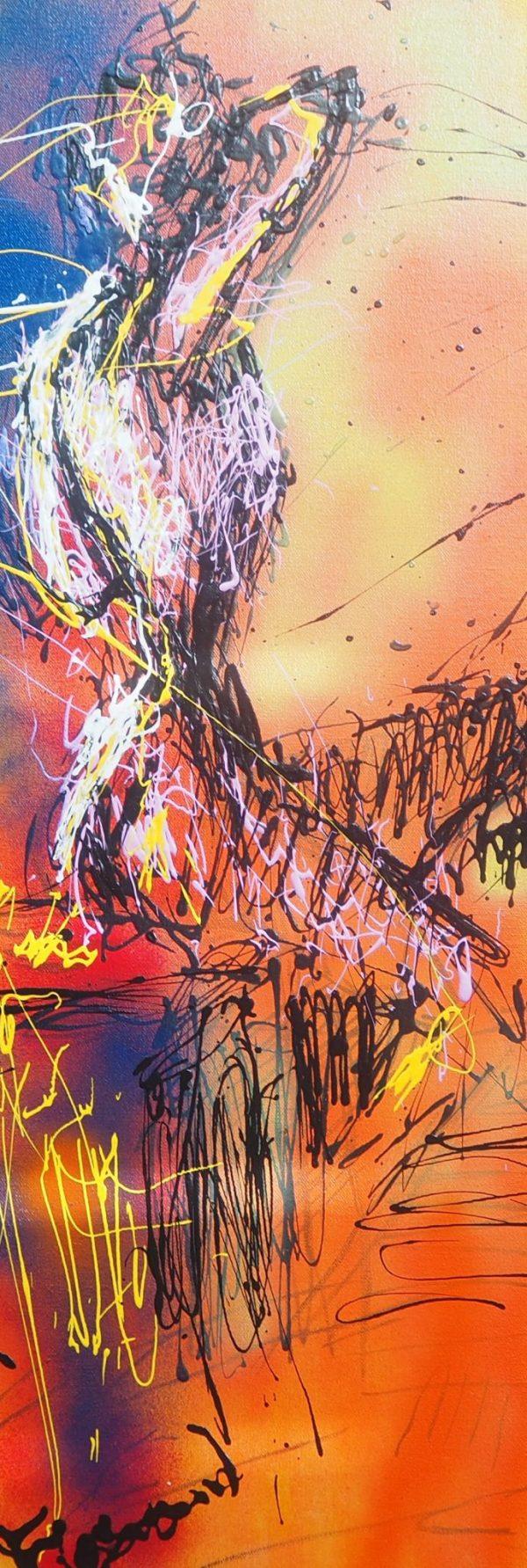 Gala Sketch Reimagined - farrand fine art