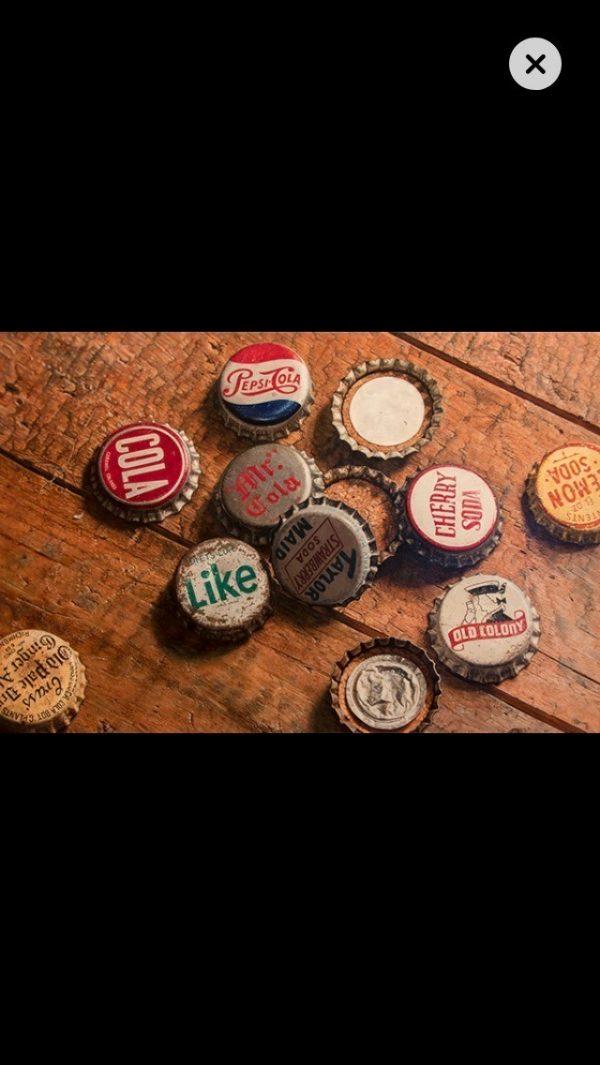 many bottle caps