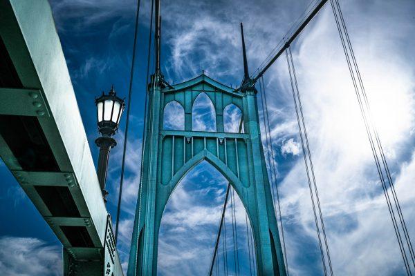 St. John's Bridge - charles santora