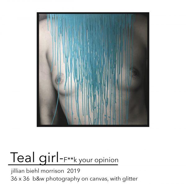 Teal Girl - FYO