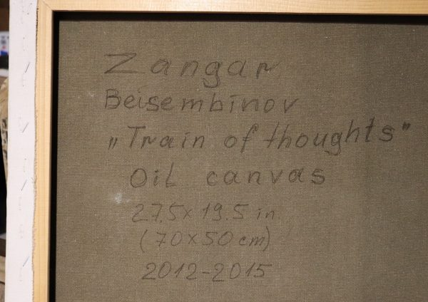 zangar beisembinov - train of thoughts