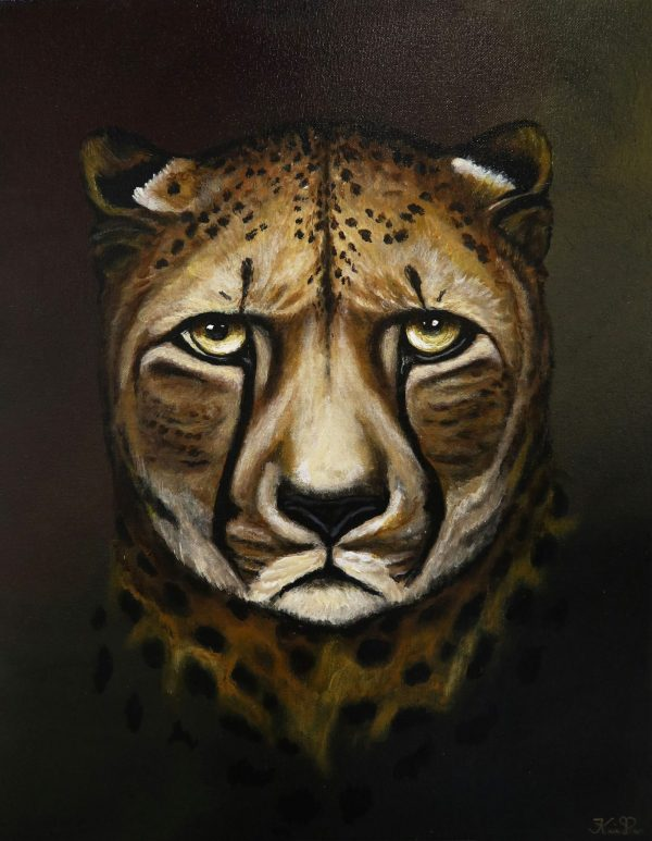 Expressions Of The Beasts - 4 in series of 4 - Karin Brauns